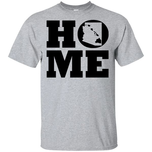 Home Roots Hawai'i and Arizona Ultra Cotton T-Shirt, T-Shirts, Hawaii Nei All Day