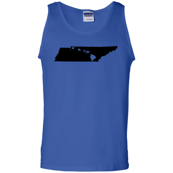 Living in Tennessee with Hawaii Roots 100% Cotton Tank Top, T-Shirts, Hawaii Nei All Day