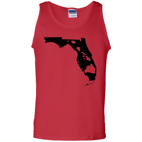 Living In Florida With Hawaii Roots 100% Cotton Tank Top, Sleeveless, Hawaii Nei All Day, Hawaii Clothing Brands