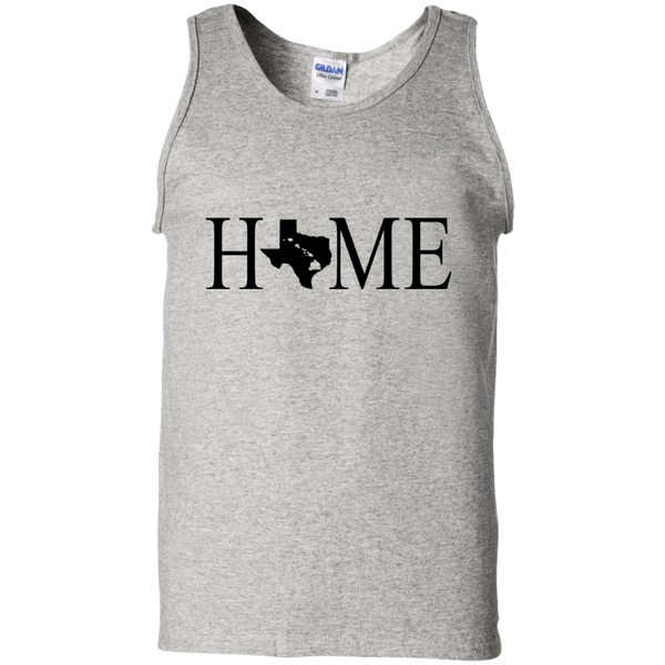 Home Hawaii & Texas 100% Cotton Tank Top, T-Shirts, Hawaii Nei All Day
