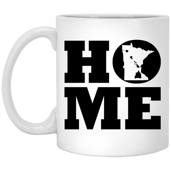 Home Roots Hawai'i and Minnesota White Mug, Apparel, Hawaii Nei All Day