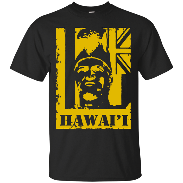 Hawai'i King Kamehameha (yellow)Ultra Cotton T-Shirt, T-Shirts, Hawaii Nei All Day