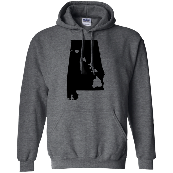 Living in Alabama with Hawaii Roots Pullover Hoodie, Sweatshirts, Hawaii Nei All Day