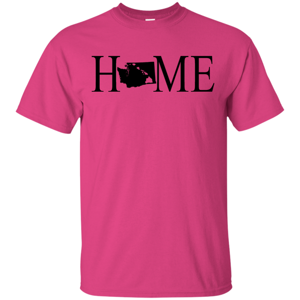 Home Hawaii & Washington Ultra Cotton T-Shirt, T-Shirts, Hawaii Nei All Day, Hawaii Clothing Brands