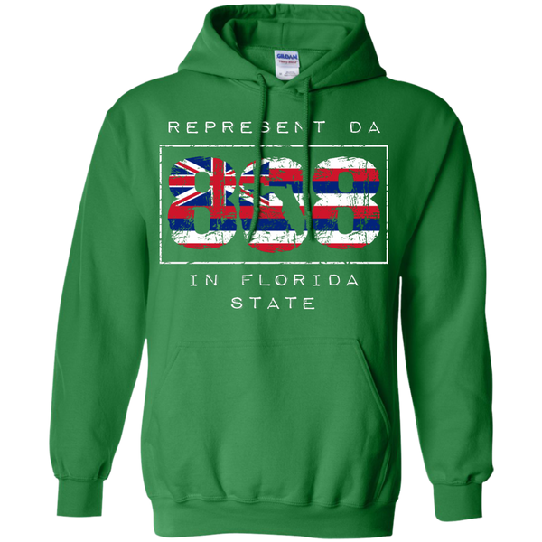 Represent Da 808 In Florida State Pullover Hoodie, Hoodies, Hawaii Nei All Day