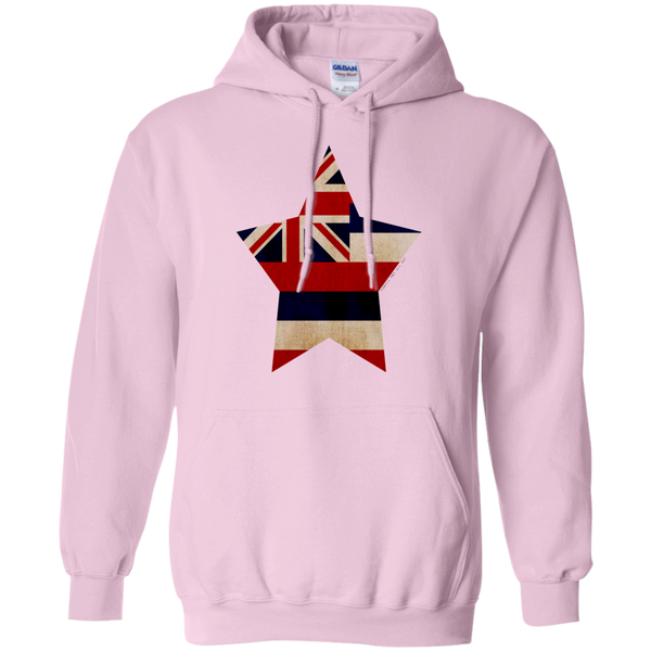 Hawaiian Star State Flag Pullover Hoodie, Sweatshirts, Hawaii Nei All Day