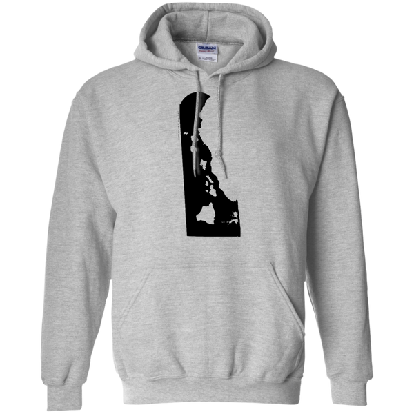 Living in Delaware with Hawaii Roots Pullover Hoodie, Sweatshirts, Hawaii Nei All Day