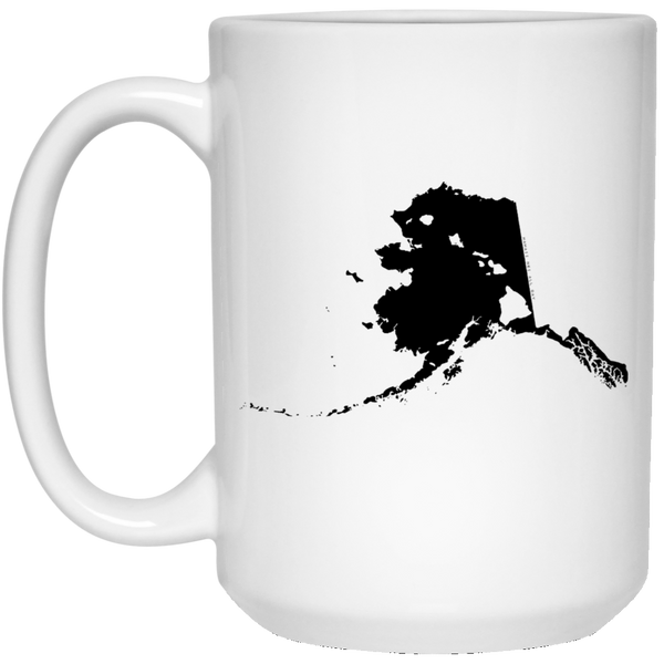 Alaska and Hawaii Roots White Mug, Apparel, Hawaii Nei All Day