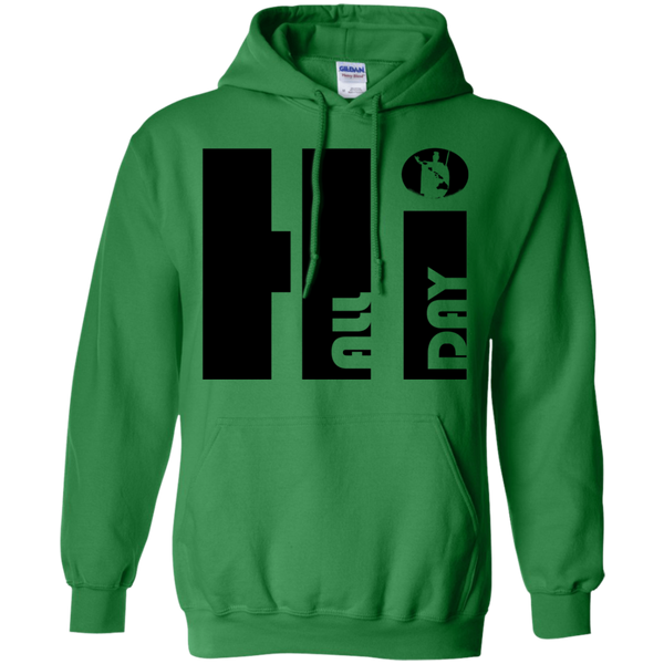 Hi ALL DAY King Kamehameha Pullover Hoodie, Sweatshirts, Hawaii Nei All Day