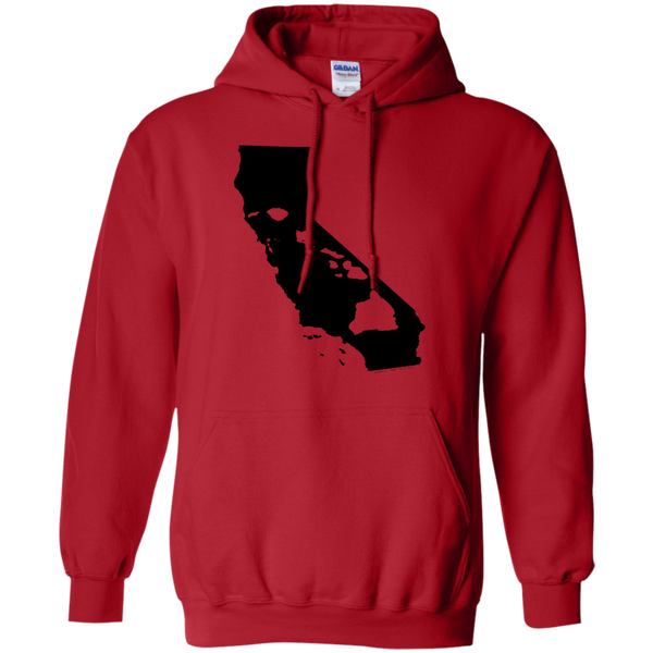 Living In California With Hawaii Roots Pullover Hoodie - Hawaii Nei All Day