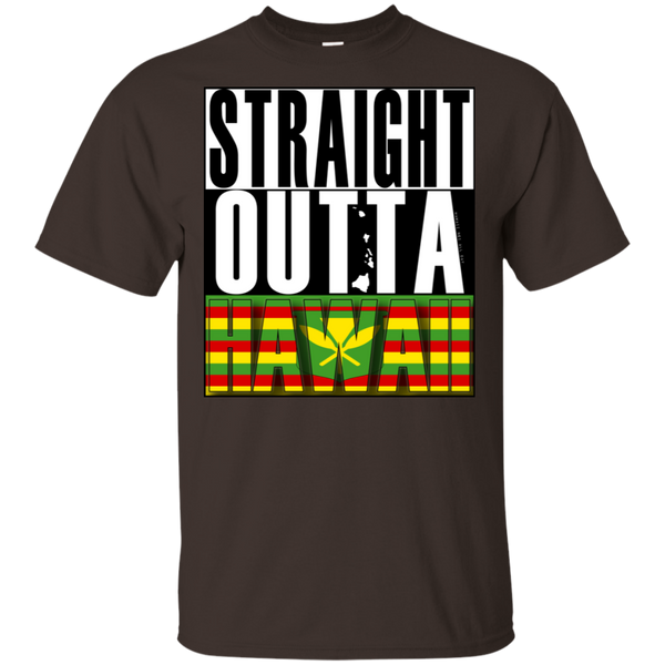 Straight Outta Hawaii(kanaka maoli) Ultra Cotton T-Shirt, T-Shirts, Hawaii Nei All Day