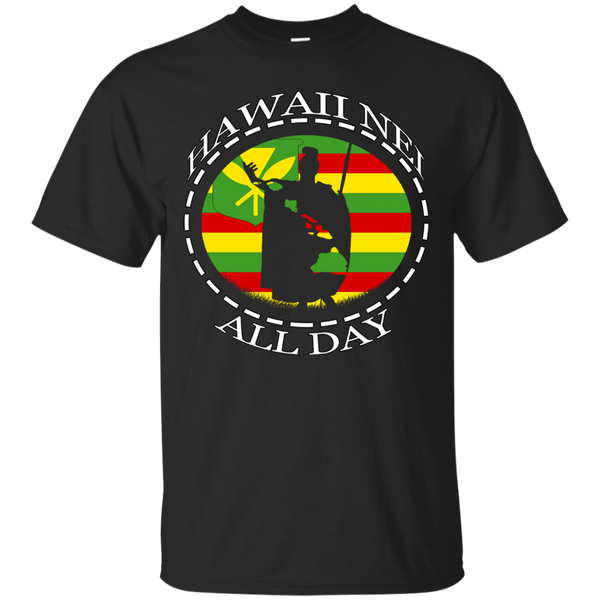 The Rising Sun Kanaka Maoli Flag Ultra Cotton T-Shirt, T-Shirts, Hawaii Nei All Day