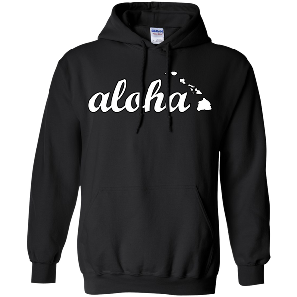Aloha Pullover Hoodie 8 oz, Hoodies, Hawaii Nei All Day, Hawaii Clothing Brands