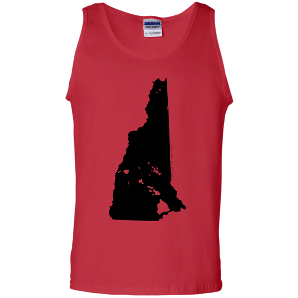 Living in New Hampshire with Hawaii Roots 100% Cotton Tank Top, T-Shirts, Hawaii Nei All Day, Hawaii Clothing Brands