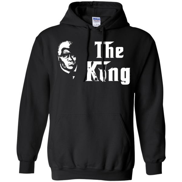 The King Pullover Hoodie 8 oz., Sweatshirts, Hawaii Nei All Day