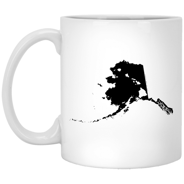 Alaska and Hawaii Roots White Mug