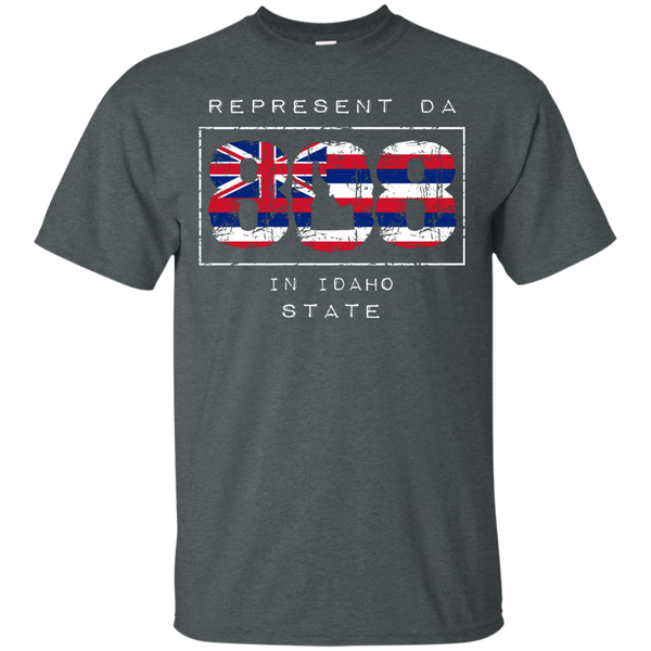 Represent Da 808 In Idaho State Ultra Cotton T-Shirt, T-Shirts, Hawaii Nei All Day, Hawaii Clothing Brands