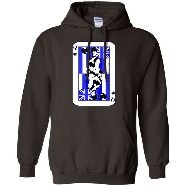 The Queen of Hawai'i Liliuokalani (blue ink) Pullover Hoodie, Sweatshirts, Hawaii Nei All Day