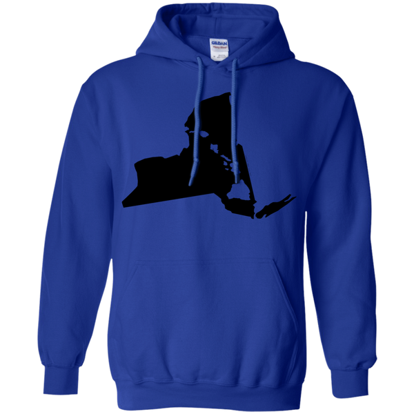 Living In New York With Hawaii Roots Pullover Hoodie 8 oz., Sweatshirts, Hawaii Nei All Day, Hawaii Clothing Brands