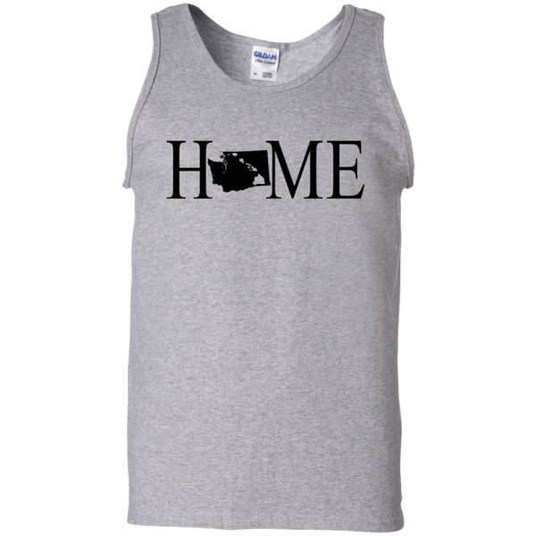 Home Hawaii & Washington 100% Cotton Tank Top, T-Shirts, Hawaii Nei All Day, Hawaii Clothing Brands