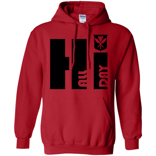 Hi All Day Kanaka Maoli Pullover Hoodie, Sweatshirts, Hawaii Nei All Day