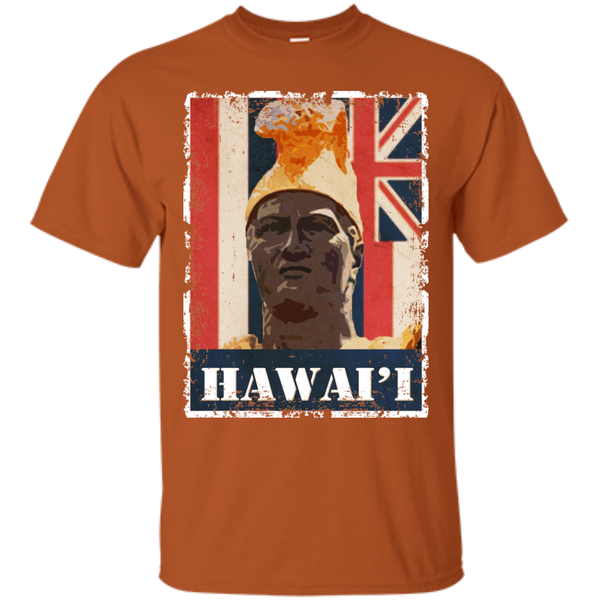 Hawai'i King Kamehameha Custom Ultra Cotton T-Shirt - Hawaii Nei All Day