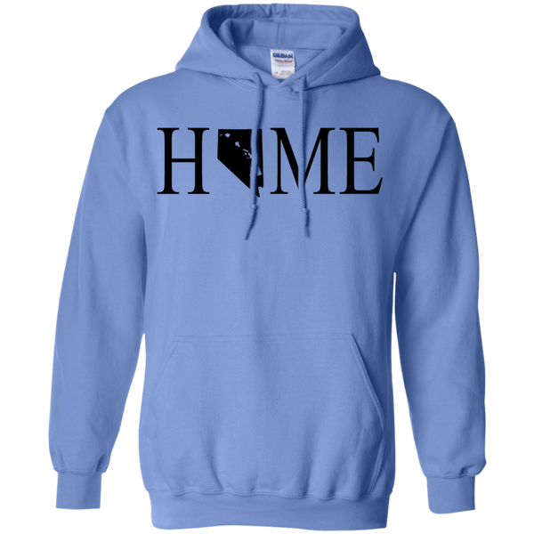 Home Hawaii & Nevada Pullover Hoodie 8 oz., Sweatshirts, Hawaii Nei All Day, Hawaii Clothing Brands