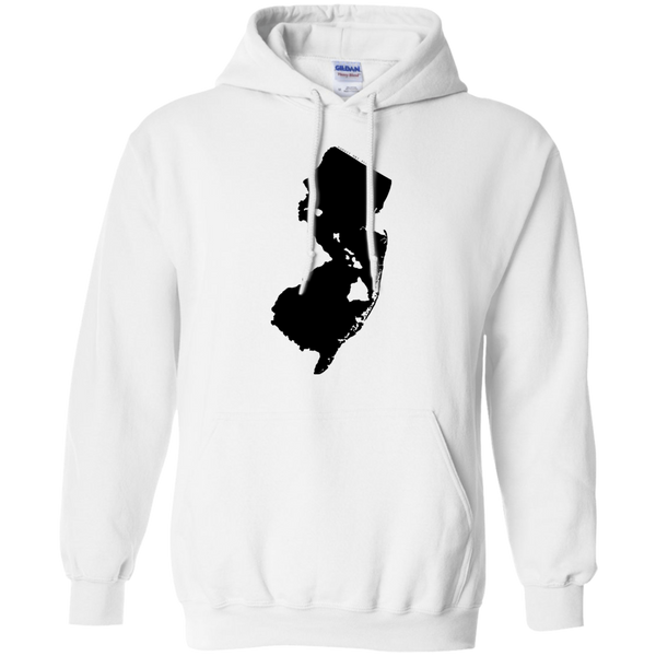 Living in New Jersey with Hawaii Roots Pullover Hoodie 8 oz., Sweatshirts, Hawaii Nei All Day