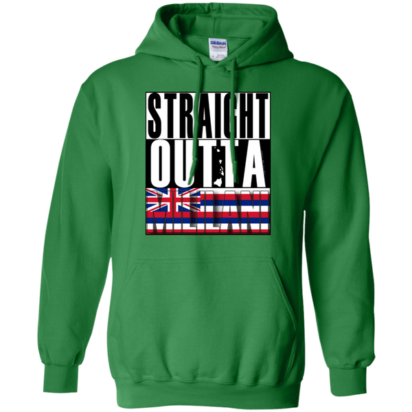 Straight Outta Mililani Hawai'i Pullover Hoodie, Sweatshirts, Hawaii Nei All Day