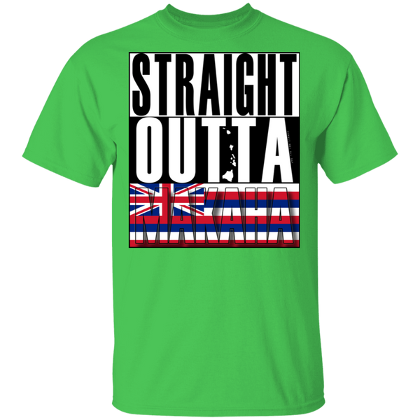 Straight Outta Makaha T-Shirt, T-Shirts, Hawaii Nei All Day
