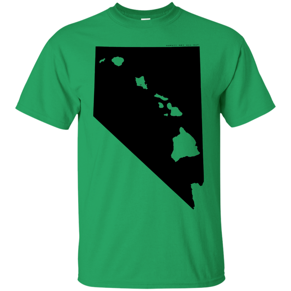 Living in Nevada with Hawaii Roots Ultra Cotton T-Shirt, T-Shirts, Hawaii Nei All Day, Hawaii Clothing Brands