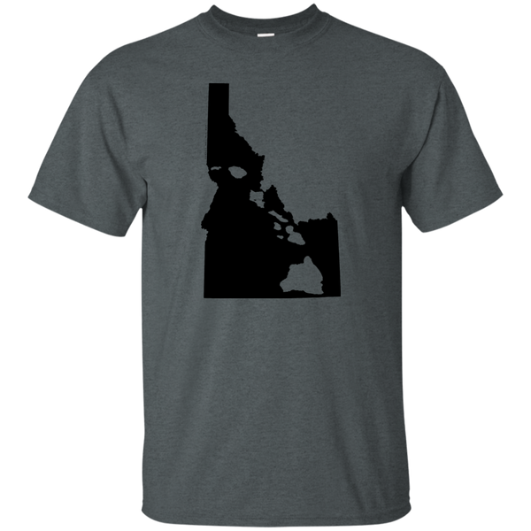 Living In Idaho With Hawaii Roots Ultra Cotton T-Shirt, T-Shirts, Hawaii Nei All Day, Hawaii Clothing Brands