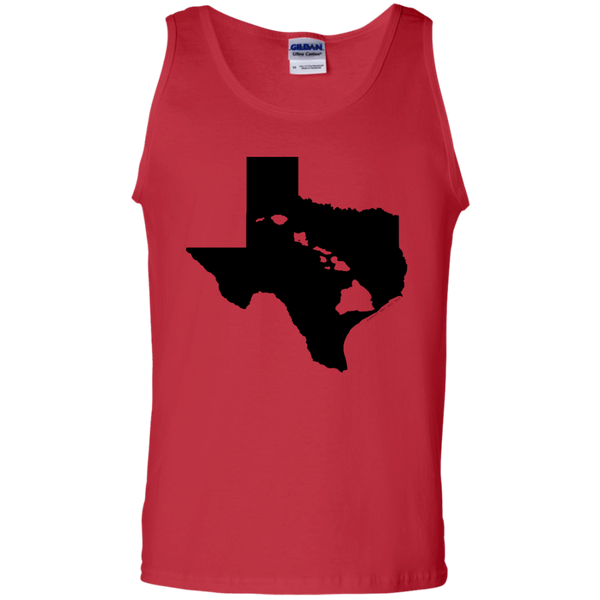 Living In Texas With Hawaii Roots 100% Cotton Tank Top, Sleeveless, Hawaii Nei All Day, Hawaii Clothing Brands