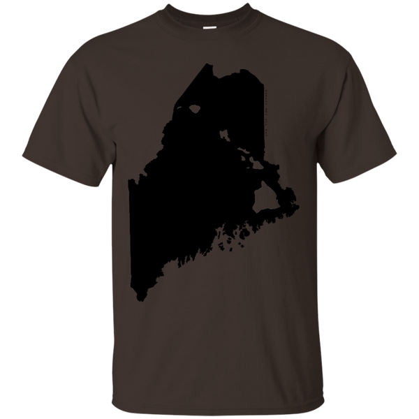 Living in Maine with Hawaii Roots Ultra Cotton T-Shirt, T-Shirts, Hawaii Nei All Day