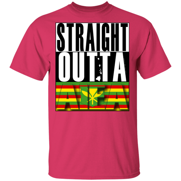 Straight Outta Aiea (Kanaka Maoli) T-Shirt, T-Shirts, Hawaii Nei All Day