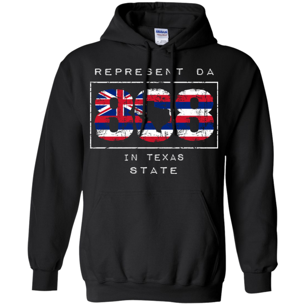 Rep Da 808 In Texas State Pullover Hoodie, Sweatshirts, Hawaii Nei All Day