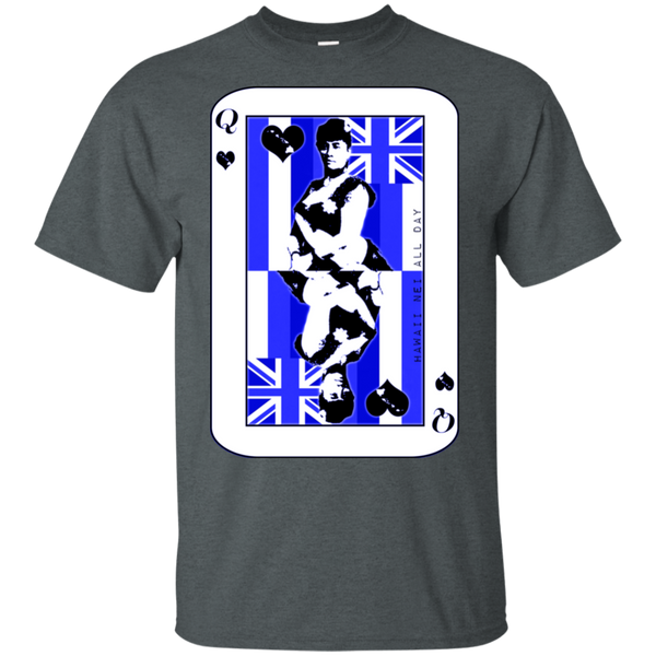 The Queen of Hawai'i Liliuokalani (blue ink) Ultra Cotton T-Shirt, T-Shirts, Hawaii Nei All Day