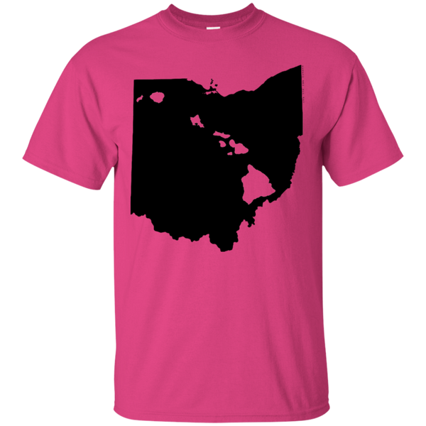 Living in Ohio with Hawaii Roots Ultra Cotton T-Shirt, T-Shirts, Hawaii Nei All Day, Hawaii Clothing Brands