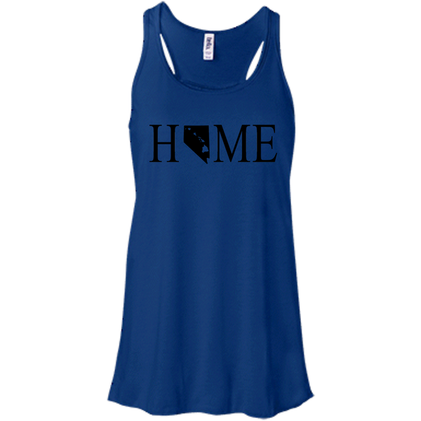 Home Hawaii & Nevada Bella + Canvas Flowy Racerback Tank, T-Shirts, Hawaii Nei All Day