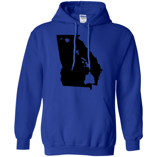 Living in Georgia with Hawaii Roots Pullover Hoodie, Sweatshirts, Hawaii Nei All Day