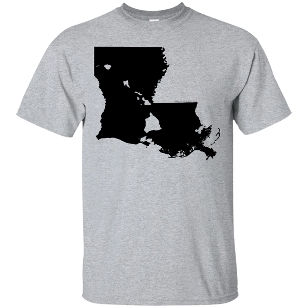 Living in Louisiana with Hawaii Roots Ultra Cotton T-Shirt, T-Shirts, Hawaii Nei All Day
