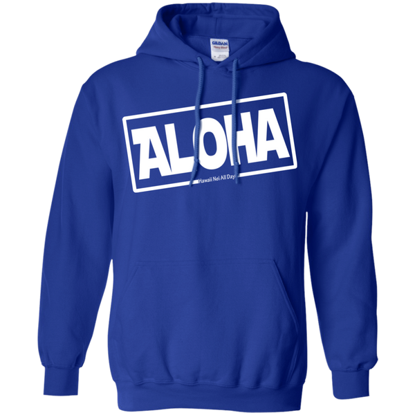 Aloha Hawai'i Pullover Hoodie, Sweatshirts, Hawaii Nei All Day
