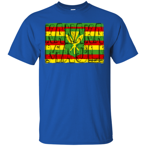 Kanaka Maoli Ultra Cotton T-Shirt - Hawaii Nei All Day
