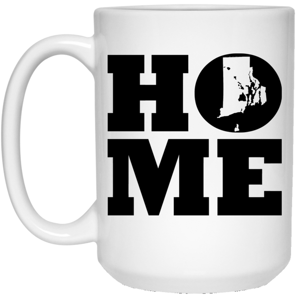 Home Roots Hawai'i and Rhode Island White Mug, Apparel, Hawaii Nei All Day