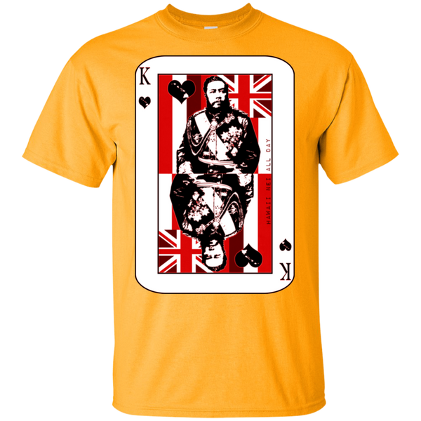 The King of Hawai'i Kalakaua(red ink) Ultra Cotton T-Shirt, T-Shirts, Hawaii Nei All Day