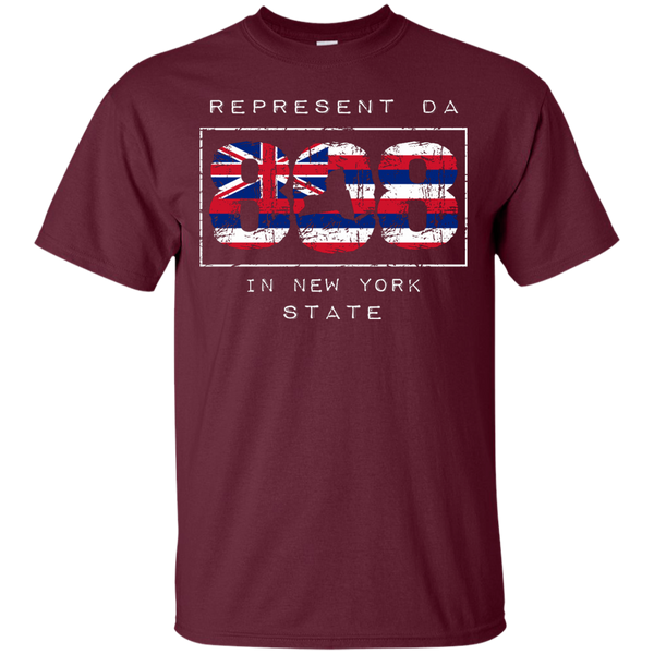 Represent Da 808 In New York State Ultra Cotton T-Shirt, T-Shirts, Hawaii Nei All Day