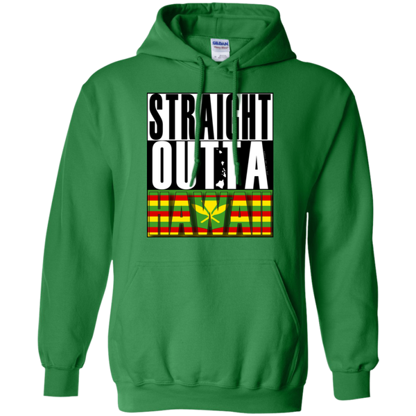 Straight Outta Hawaii(kanaka maoli) Pullover Hoodie, Sweatshirts, Hawaii Nei All Day