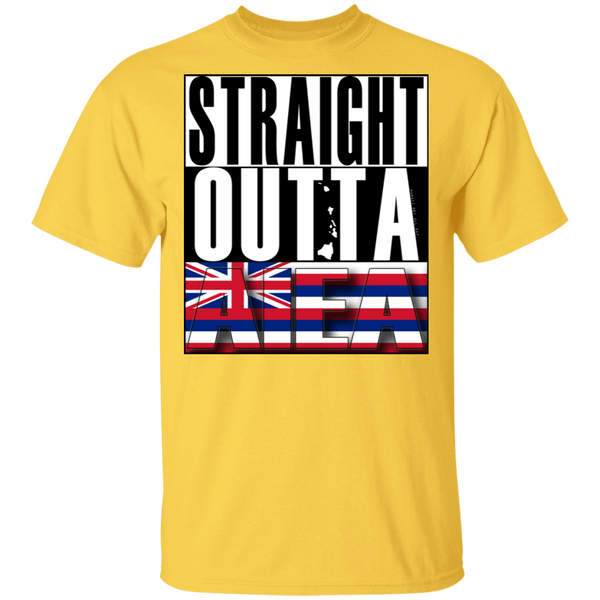 Straight Outta Aiea T-Shirt, T-Shirts, Hawaii Nei All Day
