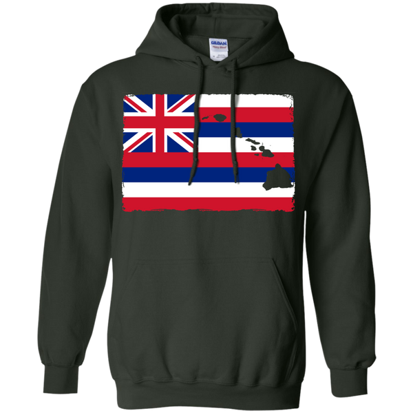 Hawai'i Aloha State Flag Pullover Hoodie, Sweatshirts, Hawaii Nei All Day