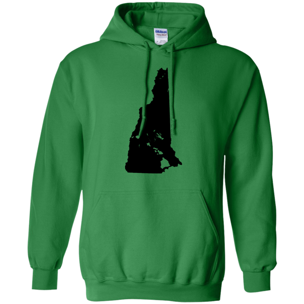 Living in New Hampshire with Hawaii Roots Pullover Hoodie 8 oz., Sweatshirts, Hawaii Nei All Day